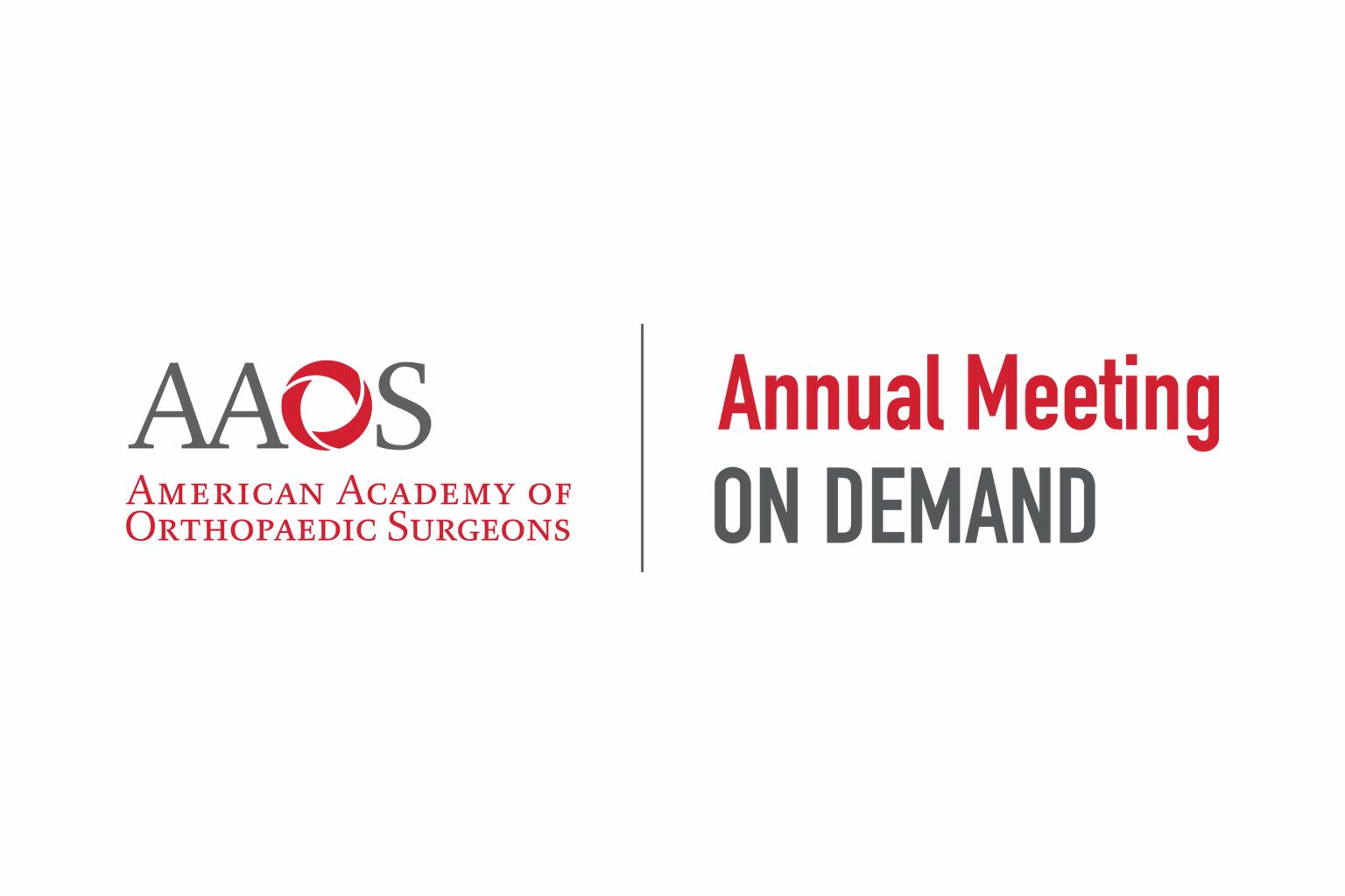 American Academy of Orthopaedic Surgeons OnDemand logo