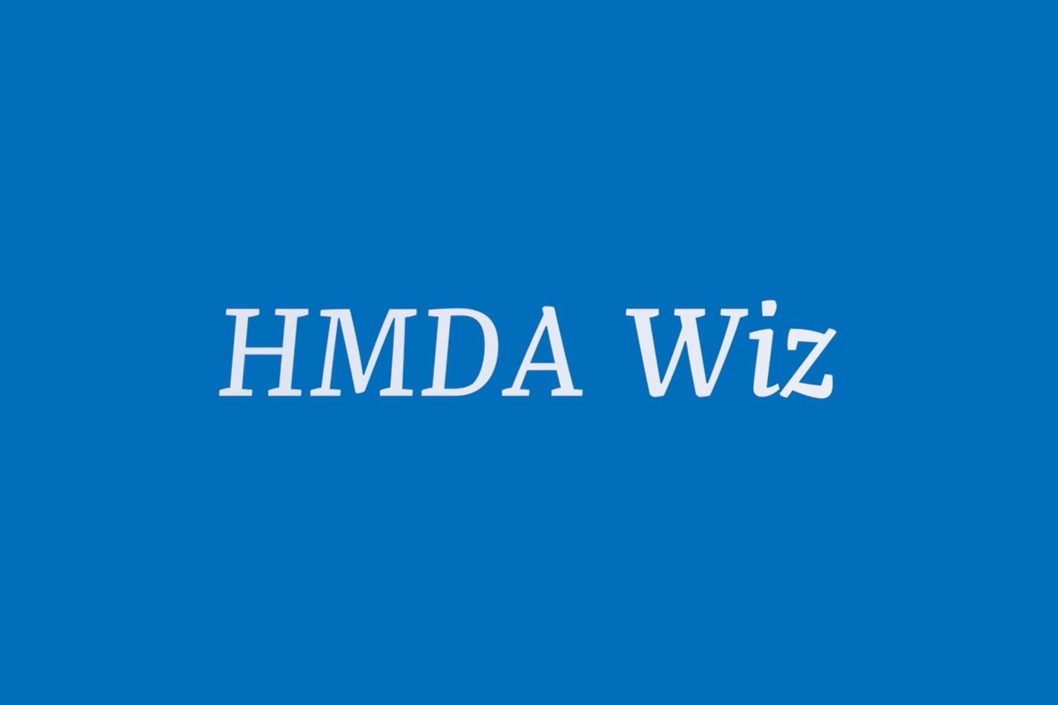 HMDA Wiz