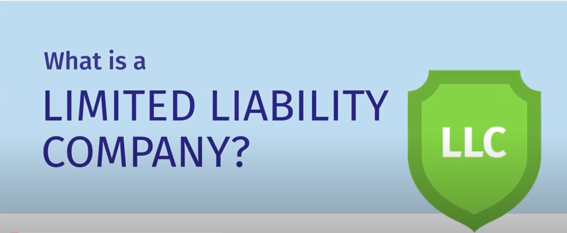 what is a limited liability company