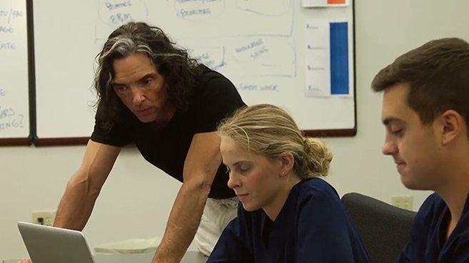 Screenshot of Lippincott DocuCare: Academic EHR at Haywood Community College video