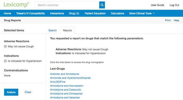 Drug Reports