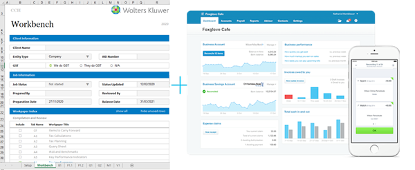 workpapers and xero