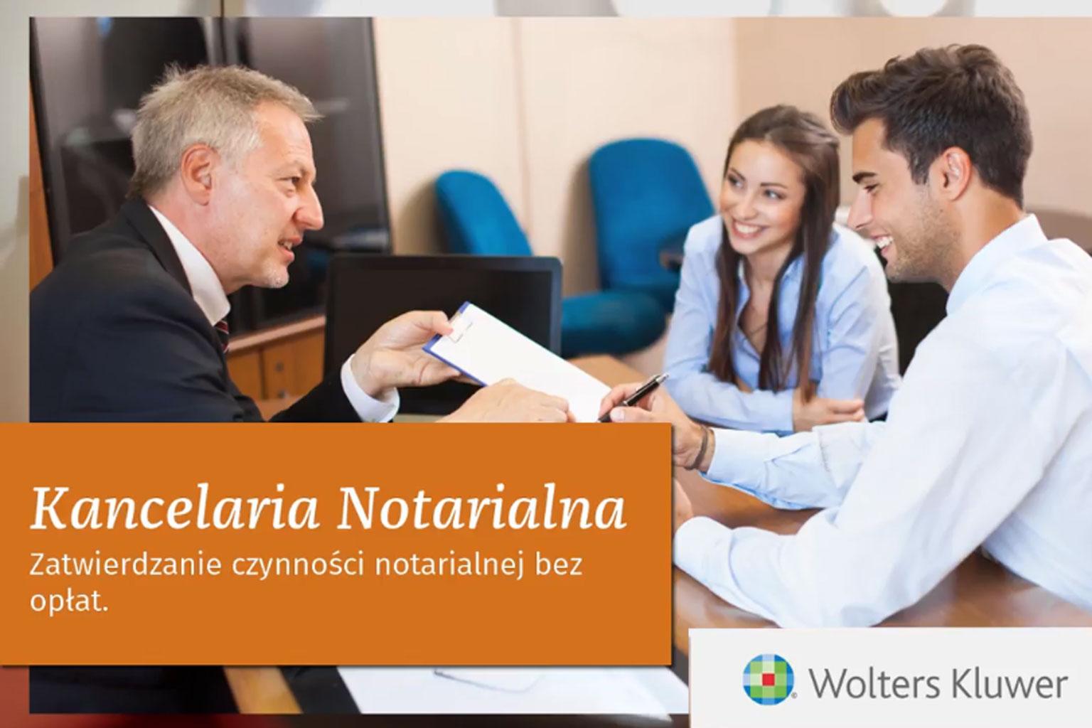 Zatwierdzanie czynności notarialnej bez opłat