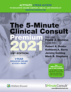 The 5-minute clinical consult book cover