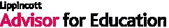 Lippincott Advisor for Education logo
