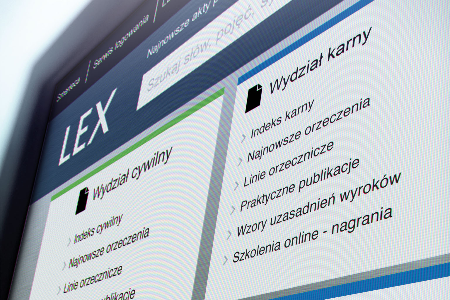 Przewodnik dla sądów LEX w kilku krokach
