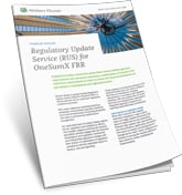 OneSumX Regulatory Update Service