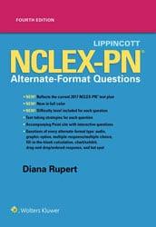 Lippincott NCLEX-PM Alternate Format Questions book cover