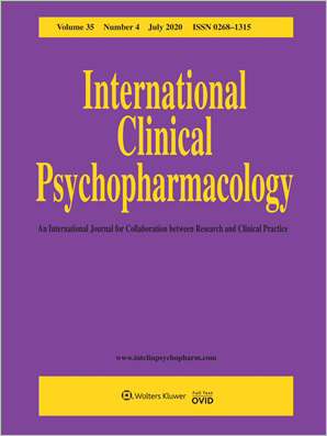 International Clinical Psychopharmacology