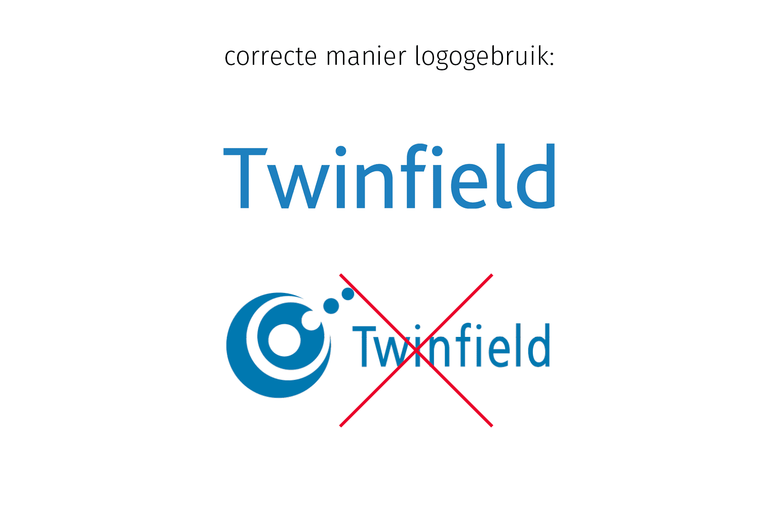 Gebruik Twinfield logo