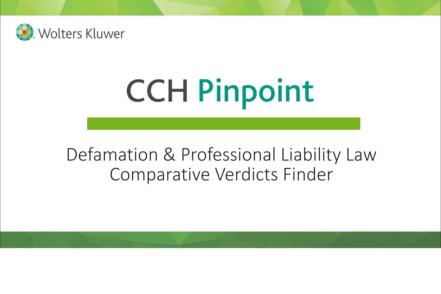 defamation and professional liability law