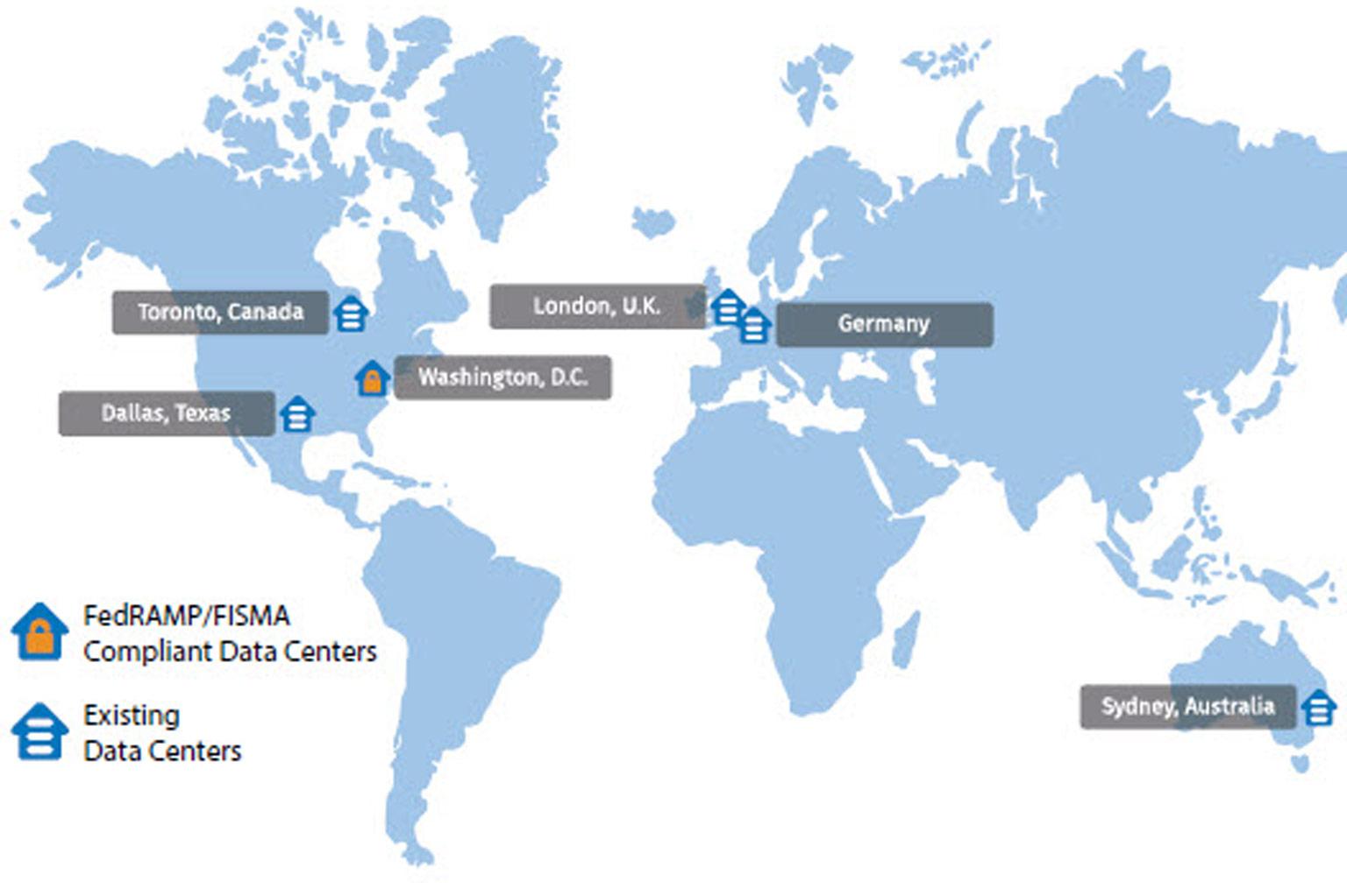 Team Cloud Hosting Locations
