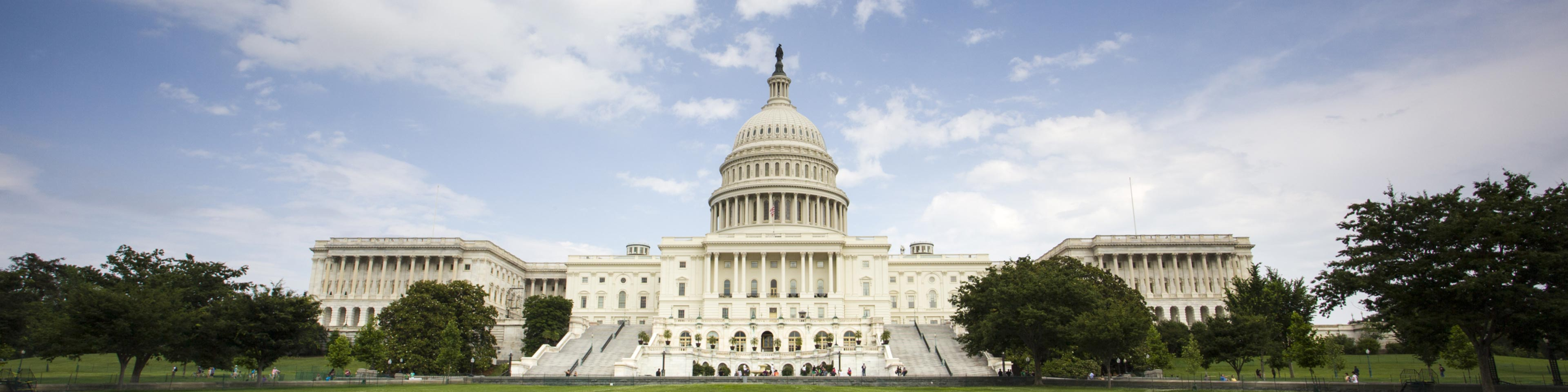 a photo of the U.S. Capitol Building in Washington D.C.