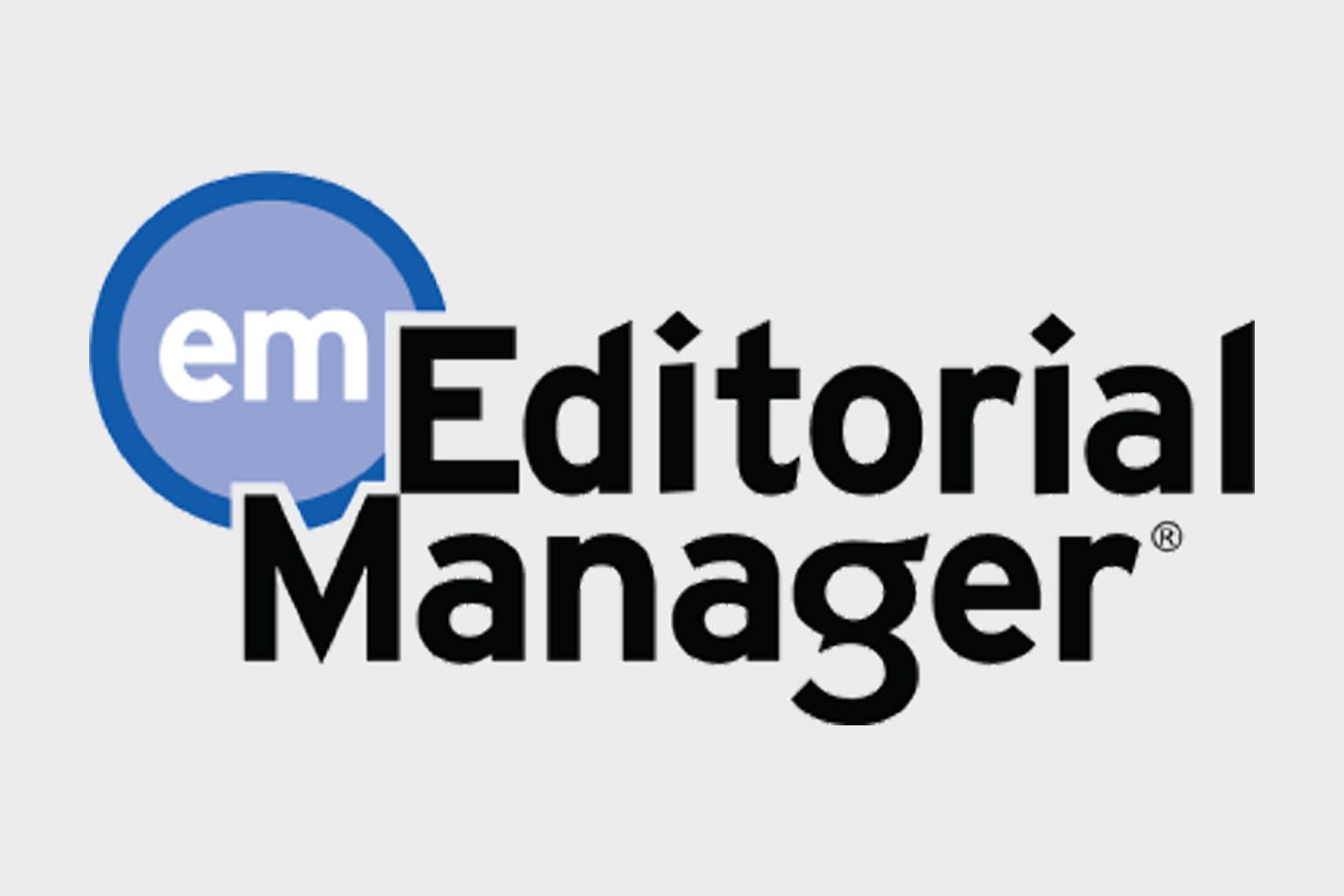 Editorial Manager logo