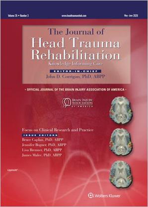 The Journal of Head Trauma Rehabilitation