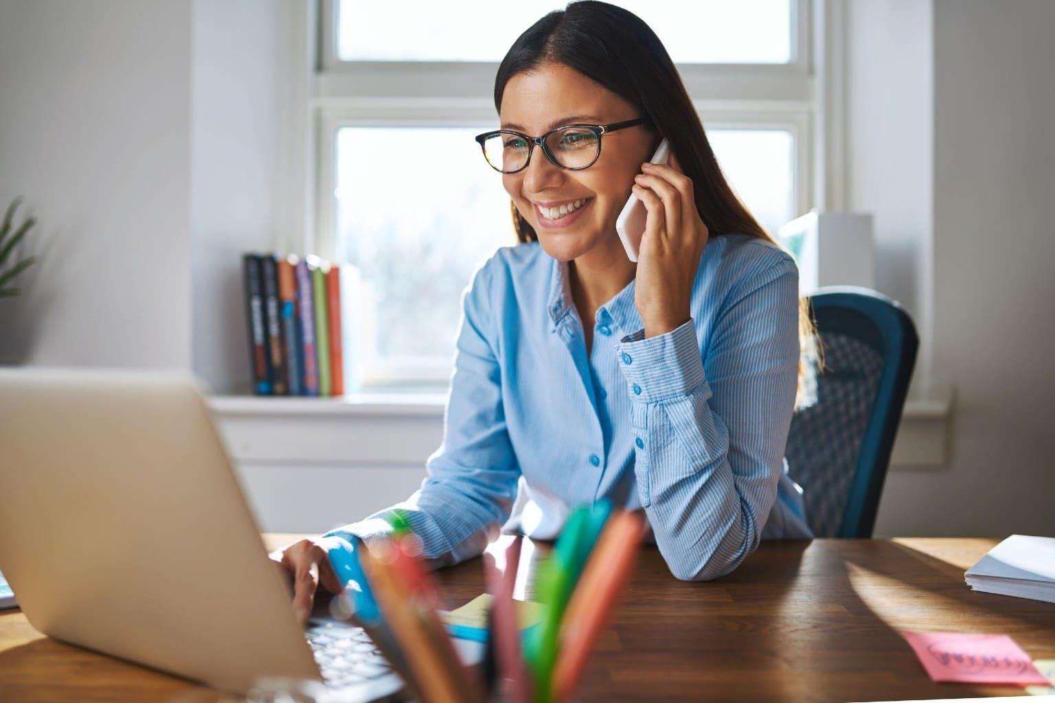 accountant communiceert met klant