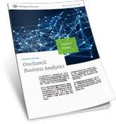 OneSumX Business Analytics A4 Solution Primer CN