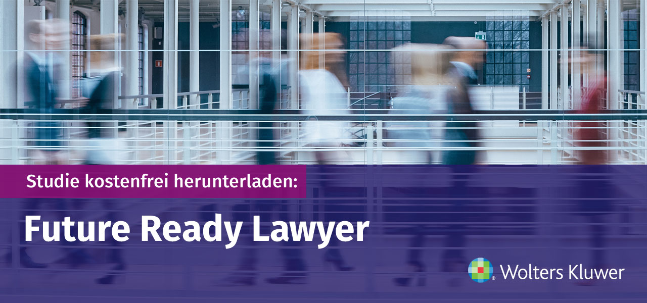 Studie Future Ready Lawyer 2020