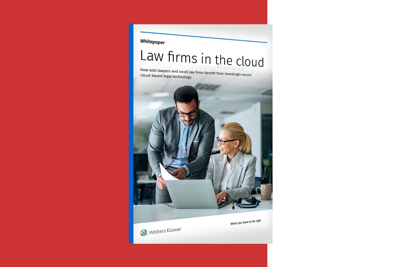 Översikt juristbyråer i molnet