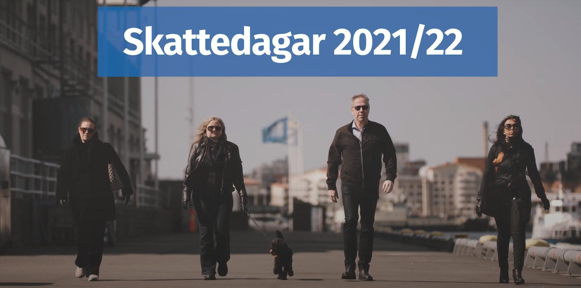 skattedagar 2021 2022
