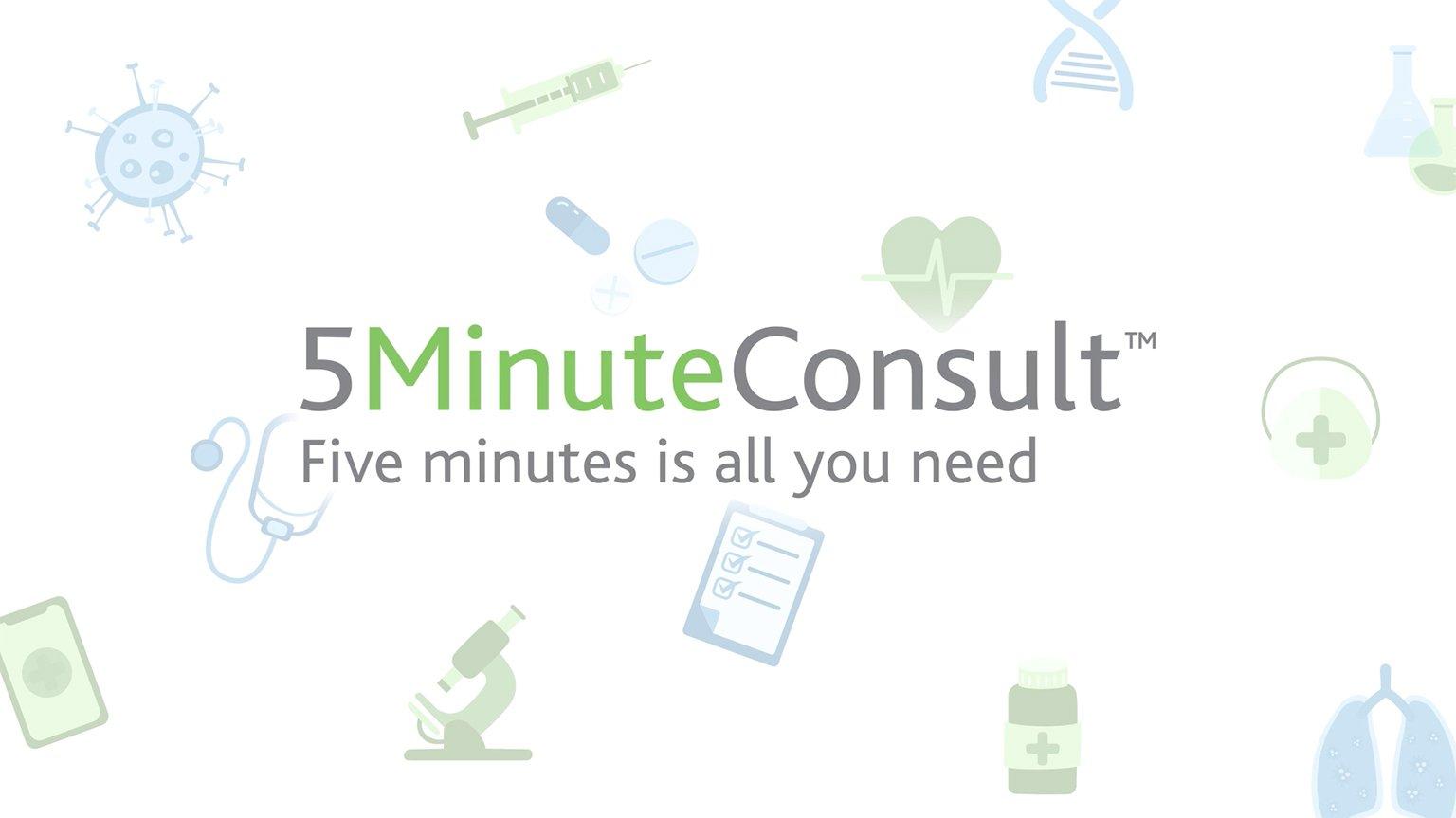 Screenshot of 5MinuteConsult promo video