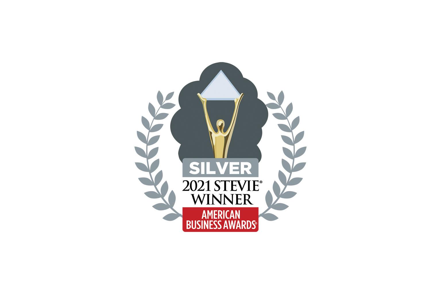 2021 Stevie Silver Award