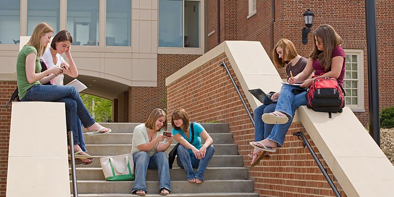 students-outside