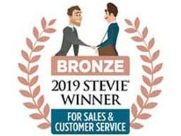 Bronze 2019 Stevie Winner
