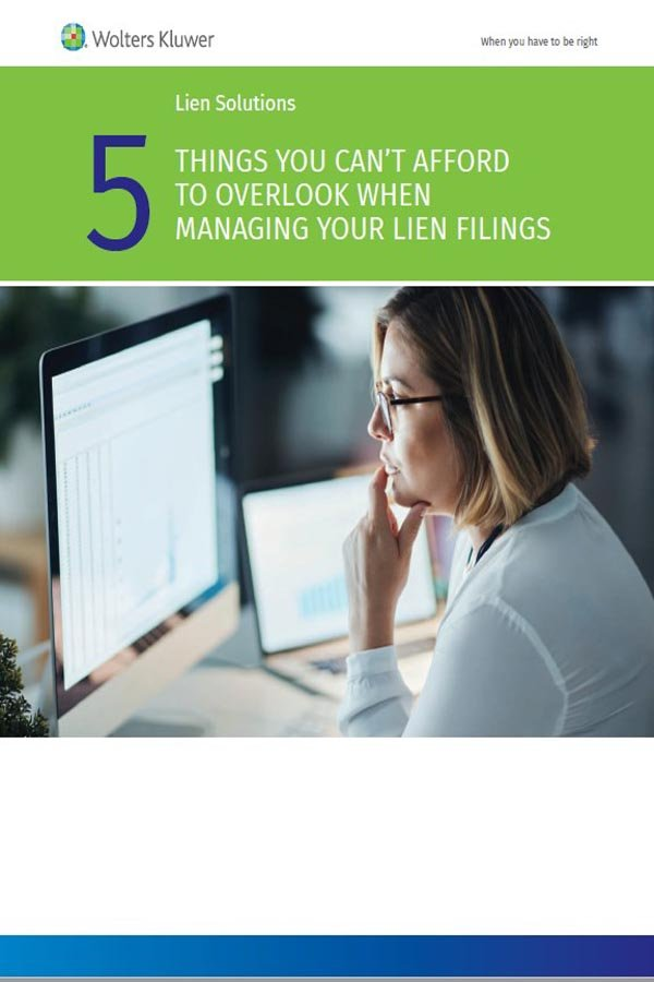 five things cover page