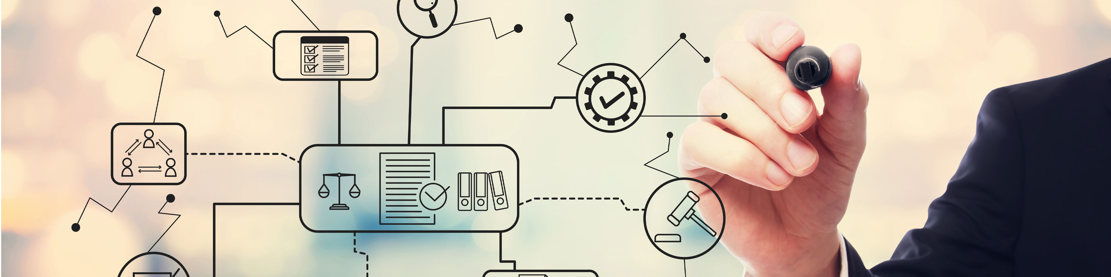 Defining business processes