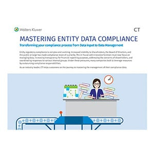 Mastering Entity Data Compliance Infographic