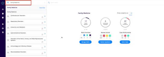 Screenshot of Firecracker Family Medicine dashboard