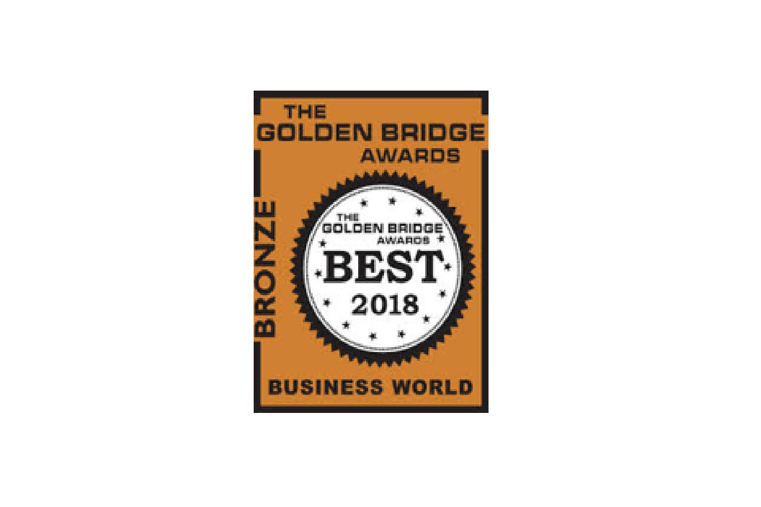 2018 Golden Bridge Awards image