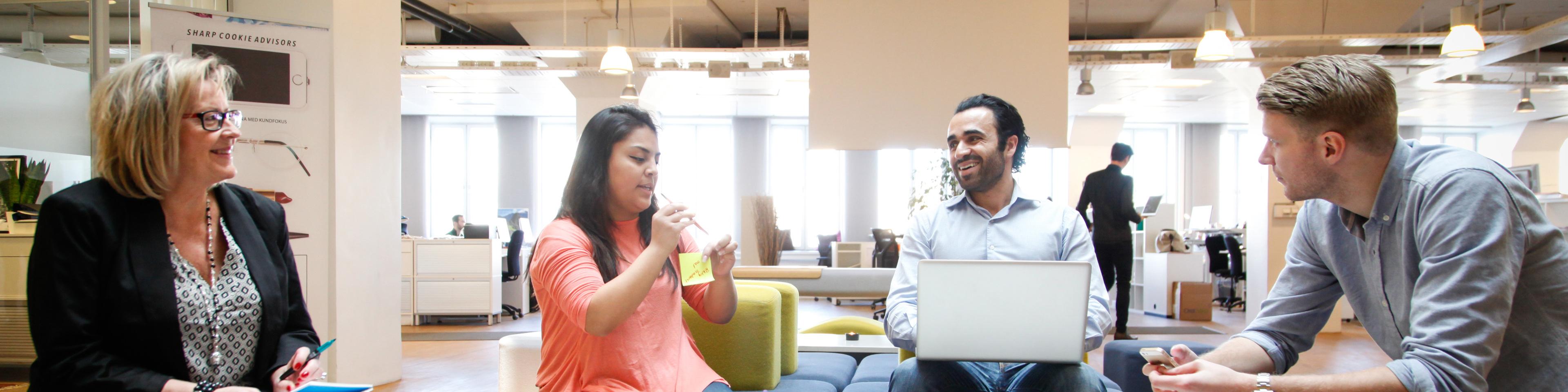 Samarbete i öppet kontorslandskap