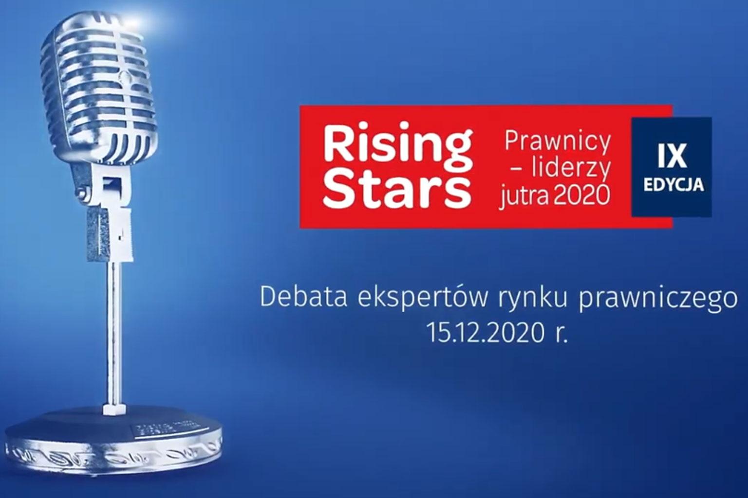 Debata - Rising Stars Prawnicy – liderzy jutra