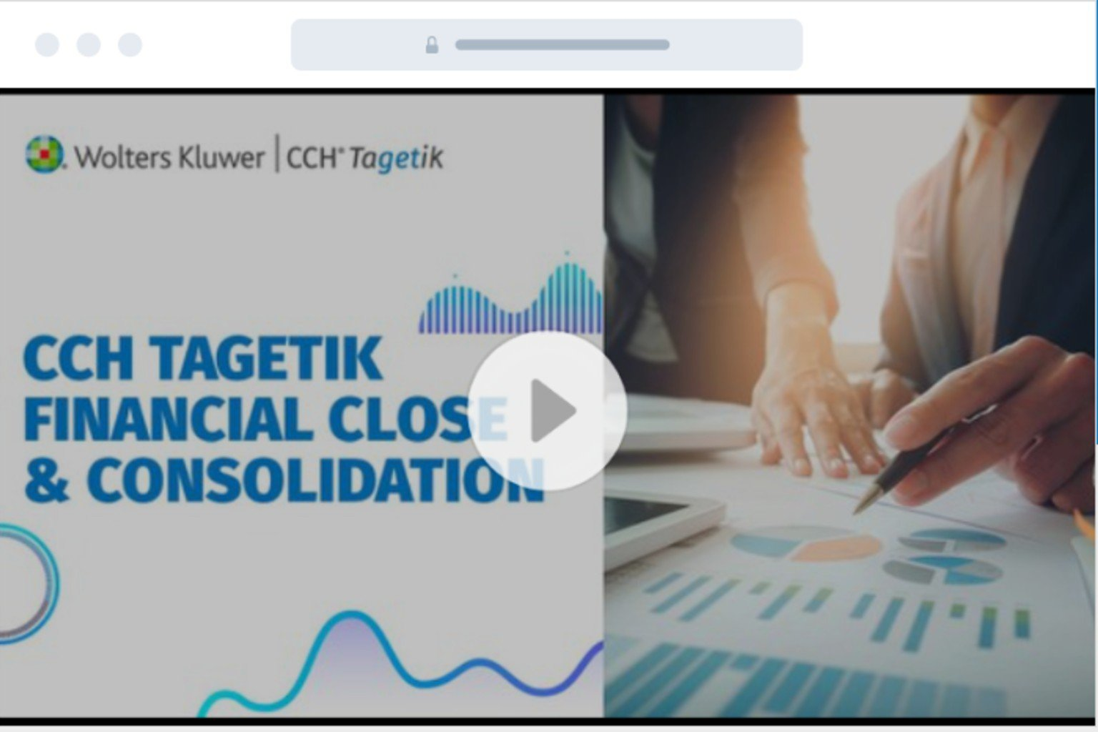 CCH Tagetik financial close and consolidation
