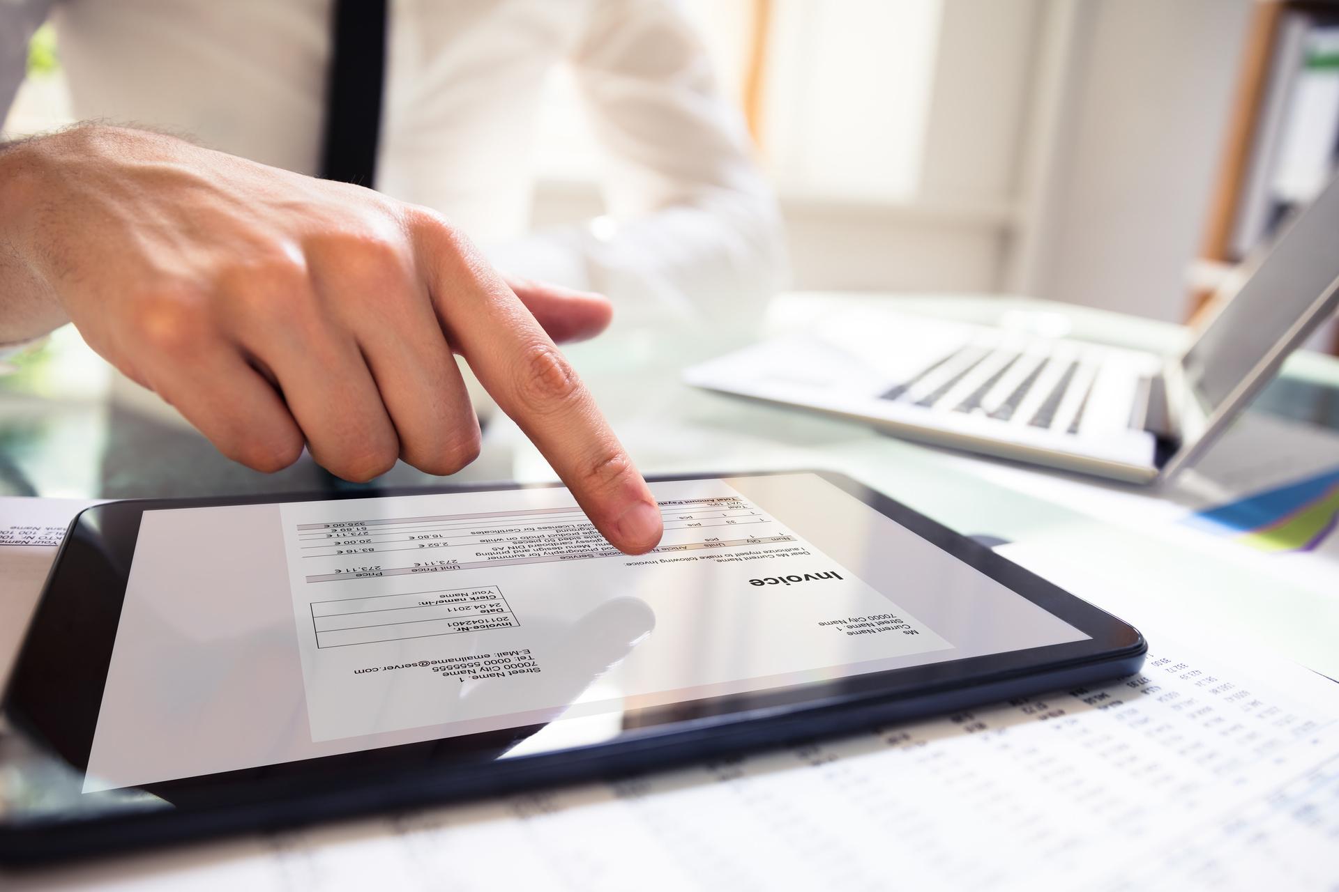 Alure facturatie hand pc en tablet