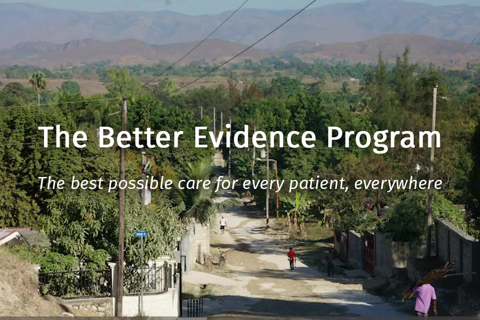 Ariadne Labs and UpToDate Better Evidence Program