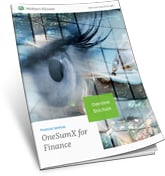 OneSumx for Finance Overview Brochure