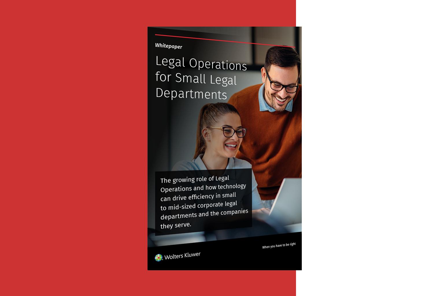 Legisway-legal operations