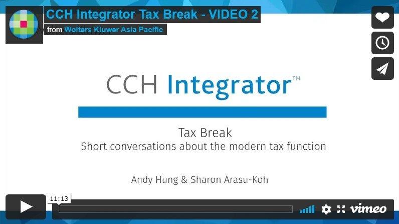 CCH Integrator Tax Break