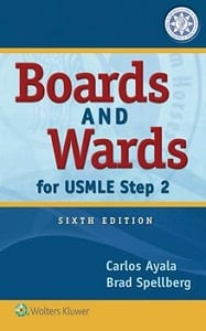 Boards and Wards for USMLE Step 2 book cover