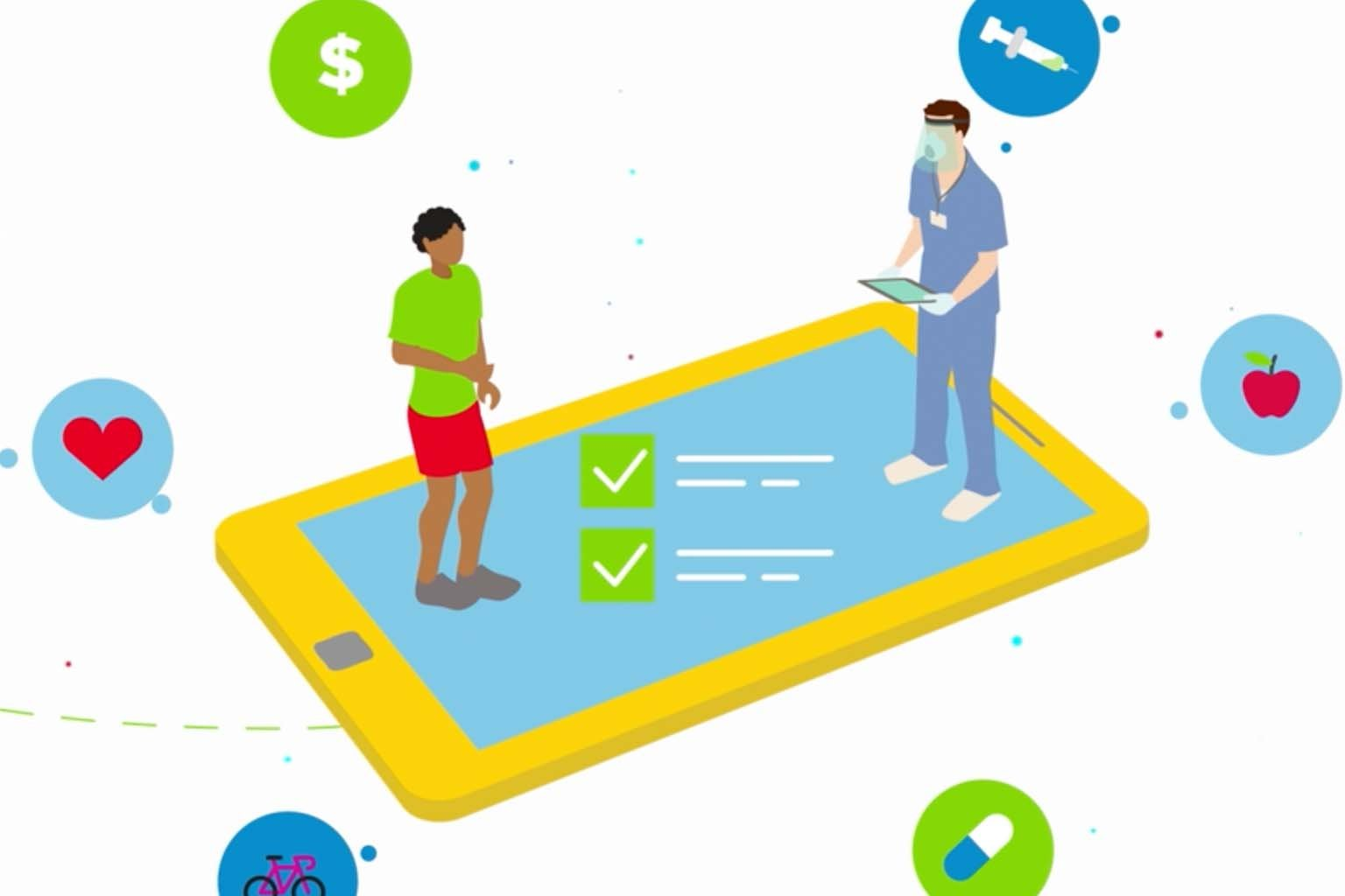 video screen - partnering with patients to optimize care
