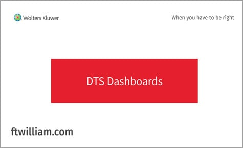 DTS Dashboards