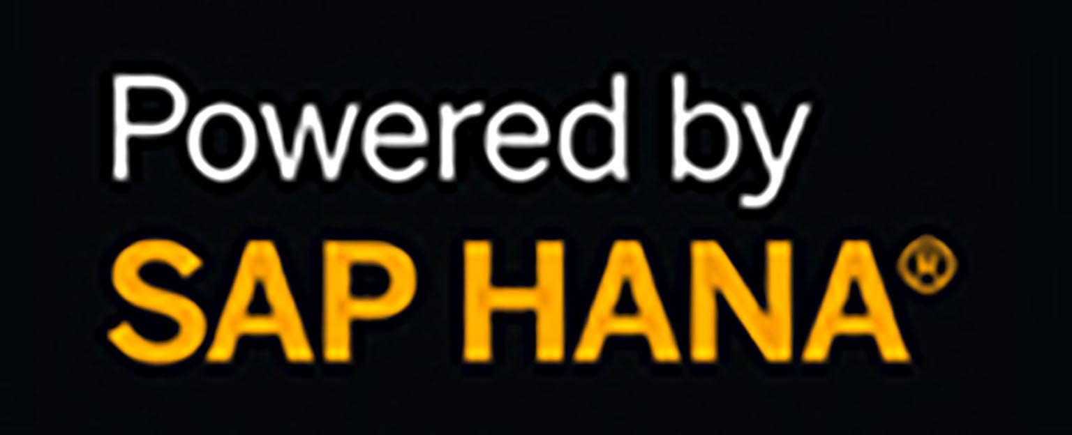 Powered by SAP Hana