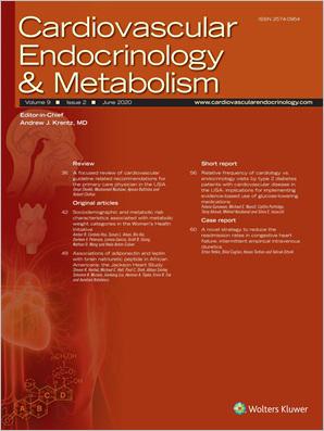 Cardiovascular Endocrinology & Metabolism