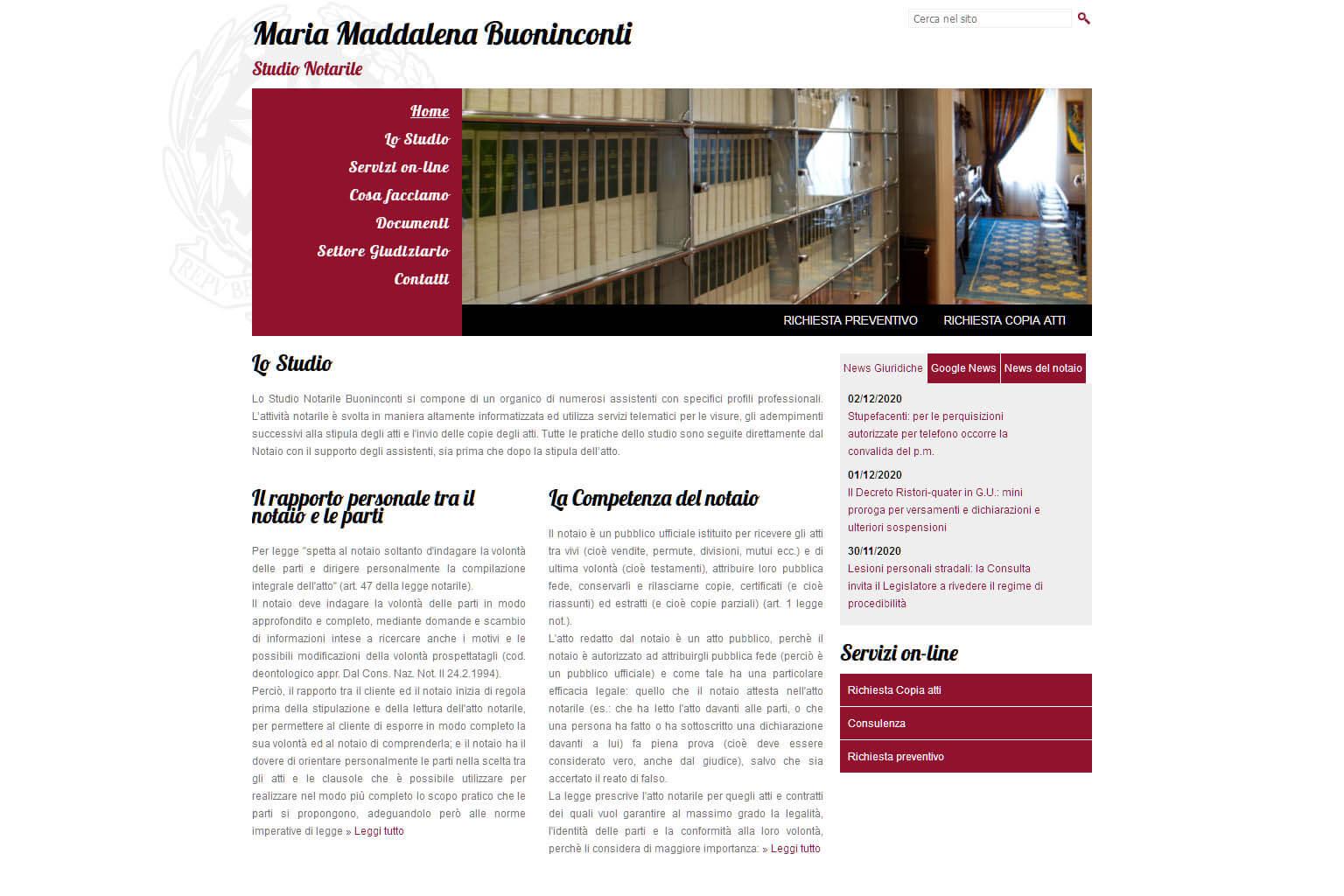 NotaioMyWeb | Notaio Maria Maddalena Buoninconti