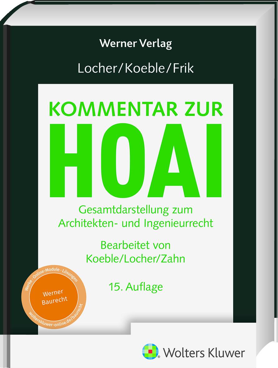 Locher-Koeble-Firk-Kommentar-zu-HOAI-Front