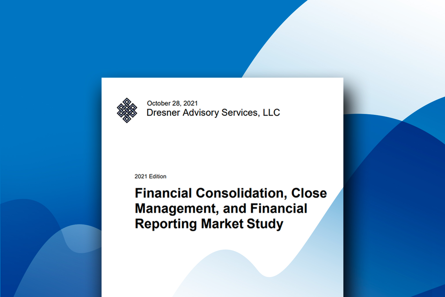 CCH® Tagetik 1st among vendors in Dresner's Financial Consolidation, Close Management, and Financial Reporting Market Study