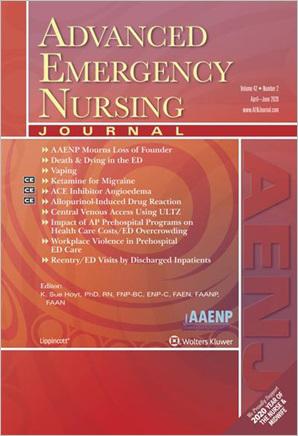 Advanced Emergency Nursing Journal
